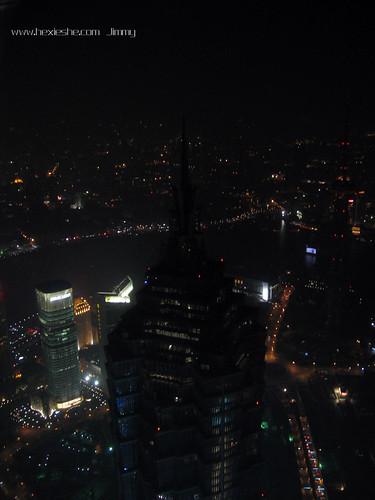 上海环球金融中心金茂大厦