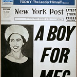A Boy for Meg, 1962 oil on canvas by Andy Warhol