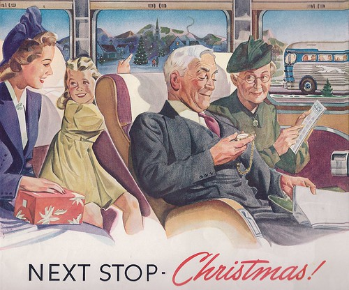 Ad-Greyhound buses -1940