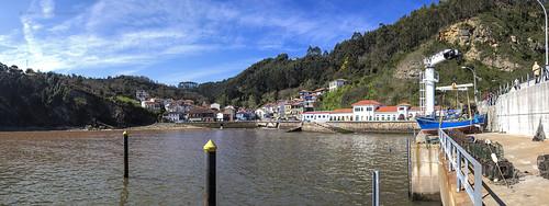 Panorámica de Tazones, Asturias