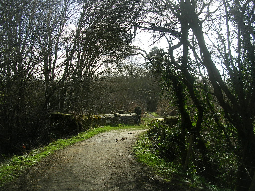Over a stone bridge East Grinstead Circular