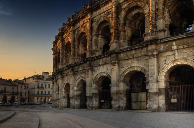Arènes de Nîmes - Roman amphitheater