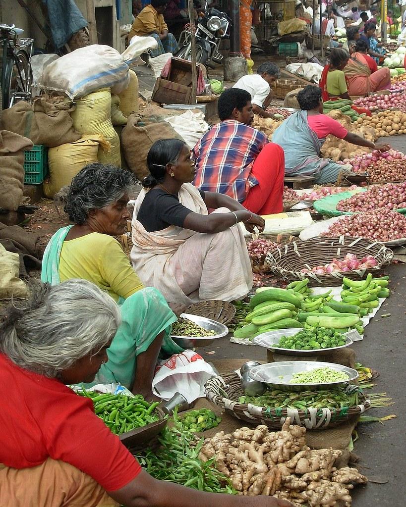 Market Scenes - Madurai