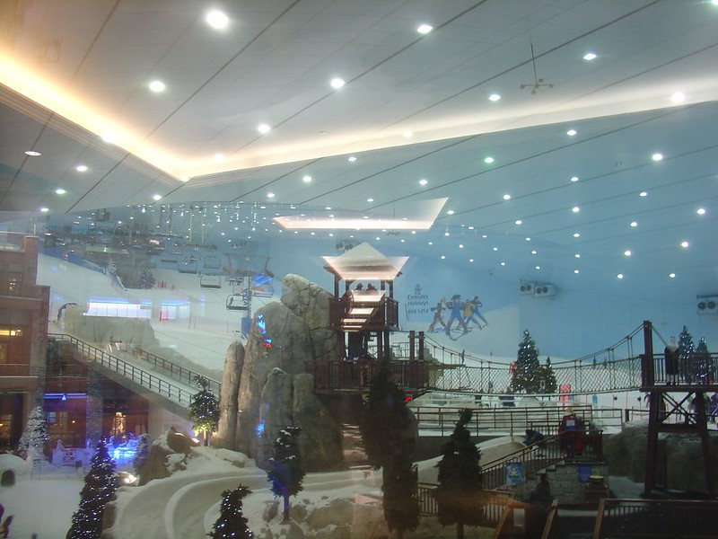 The Slopes at Ski Dubai