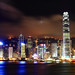 A Typical Hong Kong Night by tonyng