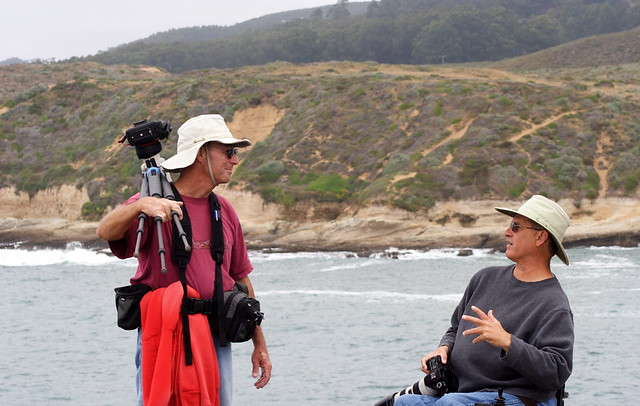 Mike & Kevin at Montana de Oro