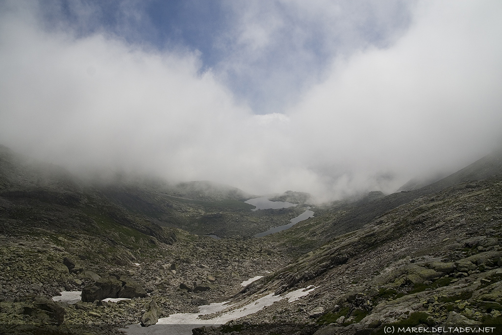 Chmury w 5 Stawach Spiskich