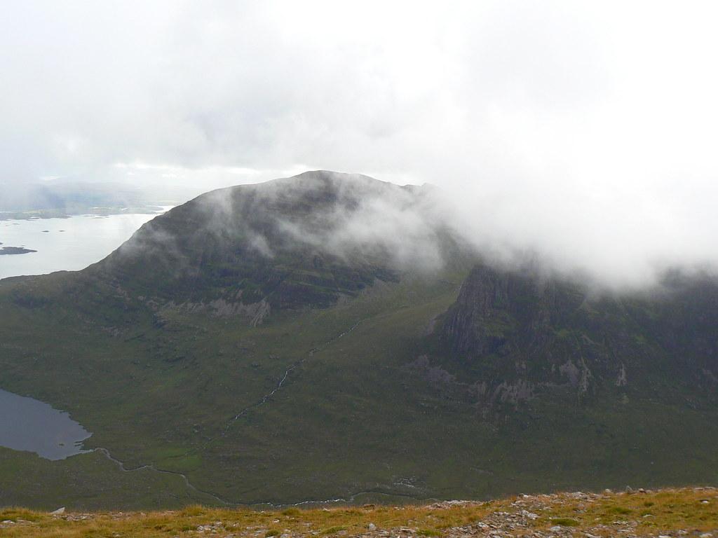 Sgurr a' Chaorachain across Coire nan Arr