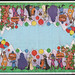 McDonalds Placemat - McDonaldland Happy Birthday - late 1970s early 1980's