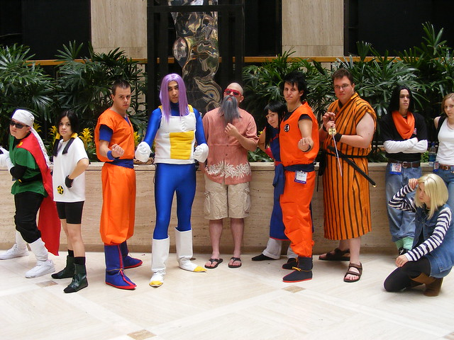 Photo:Cosplay - AWA14 - Dragonball Z By:mikemol
