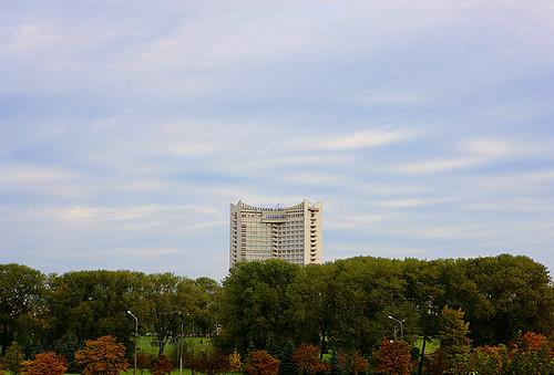 tree landscape hotel belarus 风景 明斯克 minsk 树 酒店 白俄罗斯
