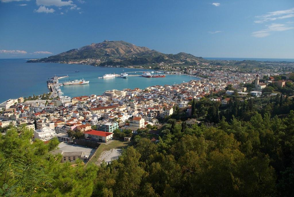 Main Town of Zakynthos (Chora)