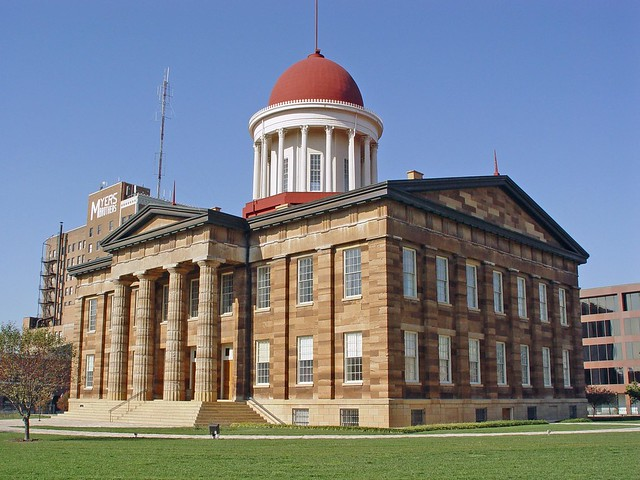 Springfield Il Old State Capitol Flickr Photo Sharing