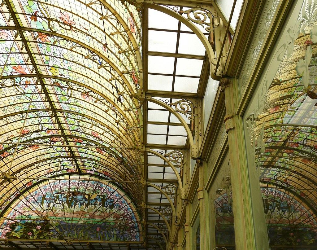 art nouveau reflections 1900 winter garden onze lieve vrouw