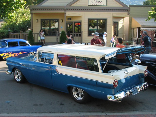1957 ford 2 door ranch wagon custom 39 5pcb986 39 6 flickr for 1957 ford 2 door ranch wagon