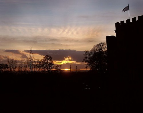 Sunderland Hylton Castle Sunset