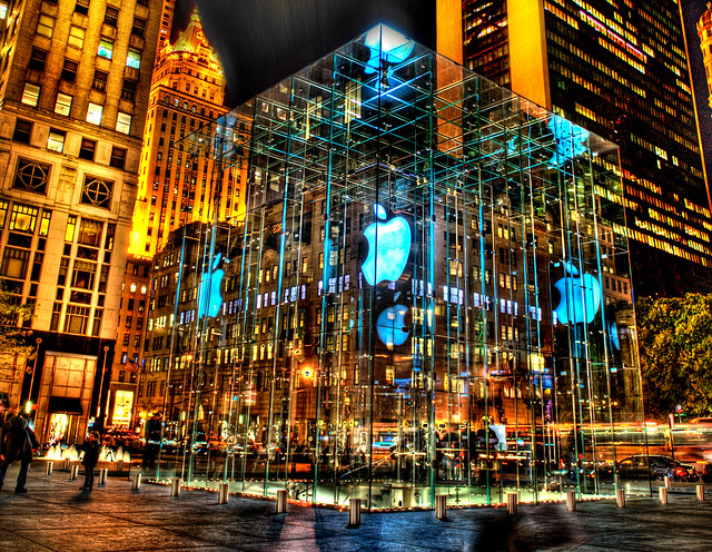 Apple Store in big apple