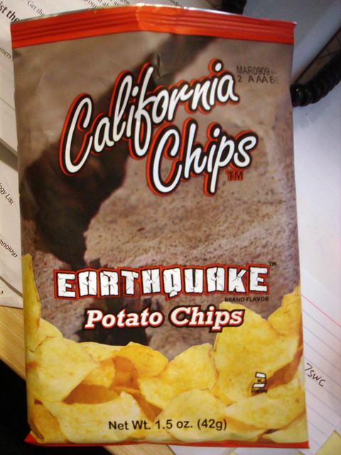 Earthquake Chips