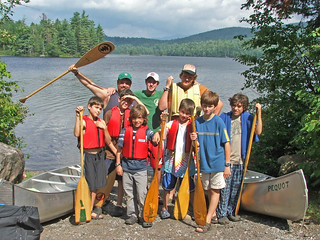 canoe trip returns | by northcountrycamps