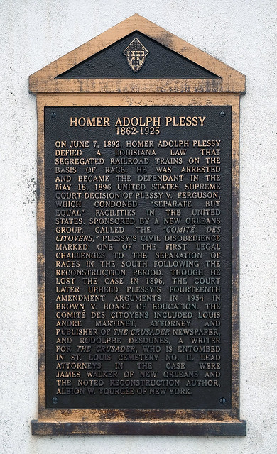 homer adolph plessy v ferguson Facts about the plessy vs ferguson case for  ferguson case were the plaintiff homer adolph plessy (1862  (plessy v ferguson) plessy vs ferguson case fact 18:.