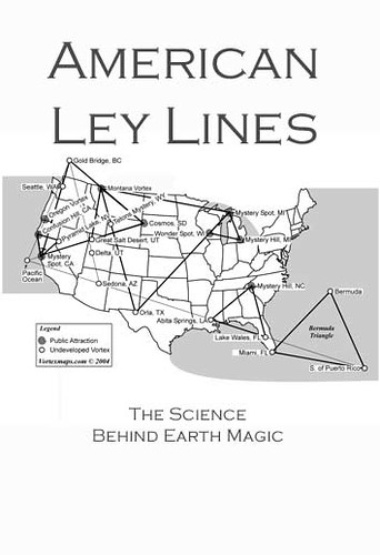 Ley Lines Map United States http://www.flickr.com/photos/vaxzine/3389501328/