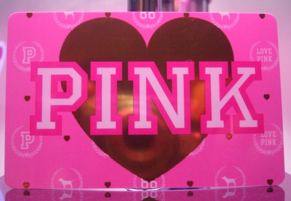 A pink victorias secret pink gift card a photo on flickriver a pink victorias secret pink gift card negle