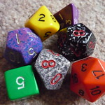 Dungeons & Dragons dice 2