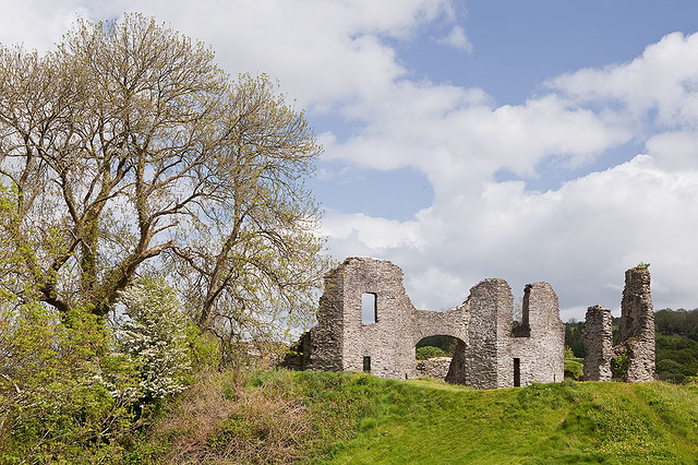 Newcastle Emlyn Castle - Carmarthenshire.