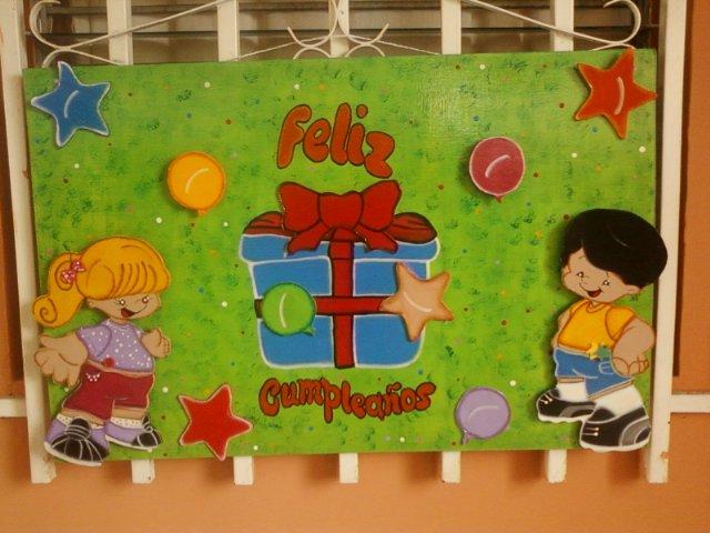 Cartelera de cumpleaños infantiles - Imagui