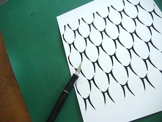Snakeskin Stencil