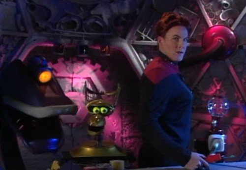 I forgot that Mike dressed up as Janeway by christopher575
