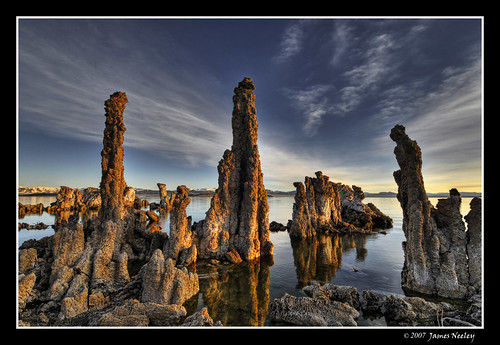 Morning at Mono Lake