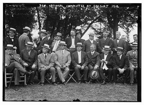 Dem. Nat'l Committee at Sea Girt, 1912 (LOC)