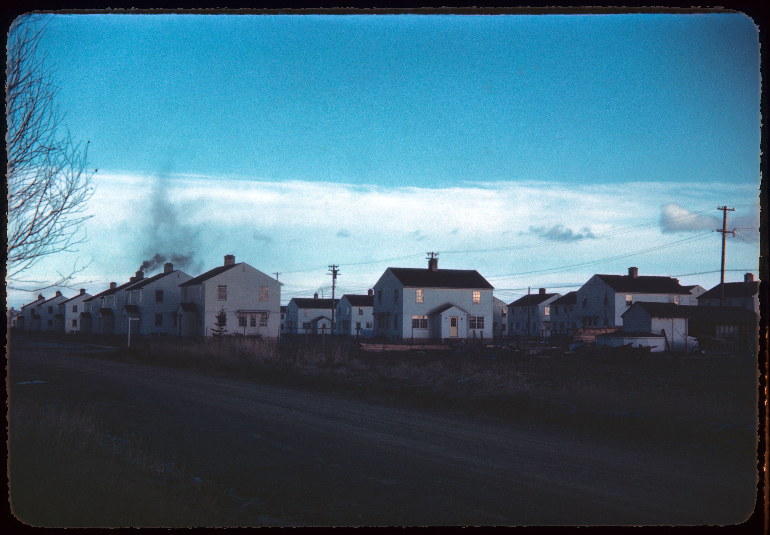 1945 08 Street scene Anchorage