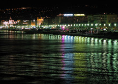 Baie dea Anges at night