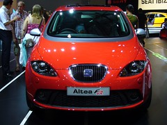 automobile, automotive exterior, wheel, supermini, vehicle, automotive design, seat altea, auto show, compact car, land vehicle, luxury vehicle,