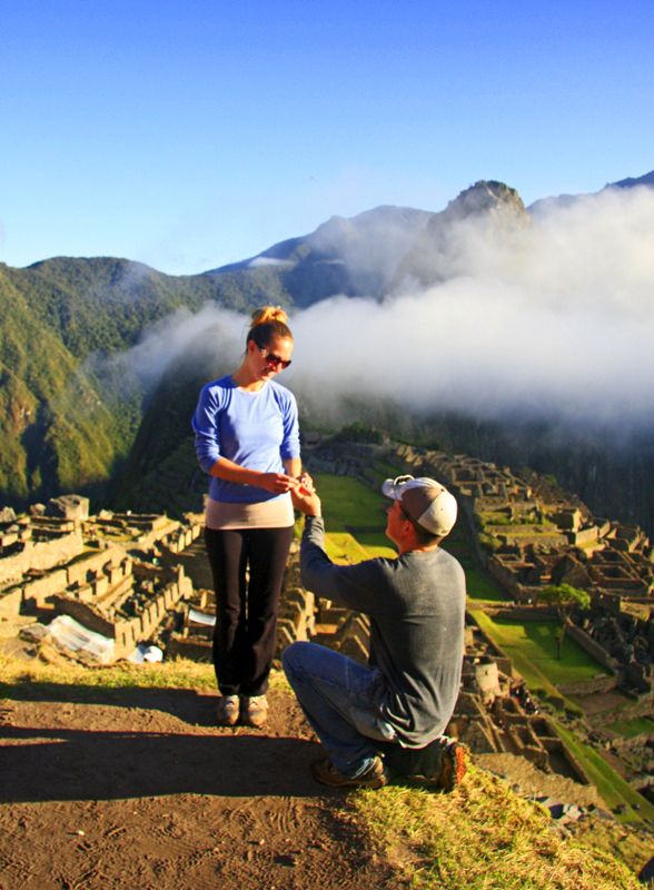 Romantic Engagement Proposal Idea: Machu Picchu