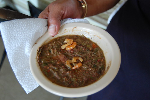Okra is an essential cooking ingredient in Africa and the Southern USA
