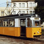 Nordhausen Gotha  Tram nr 46 to Altentor, Arnoldplatz  August 1989
