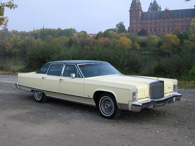 lincoln continental town car flickr photo sharing. Black Bedroom Furniture Sets. Home Design Ideas