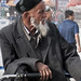 Man on Bike in Kashgar China