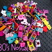 Plastic charms & necklaces by RebeccasArtCloset