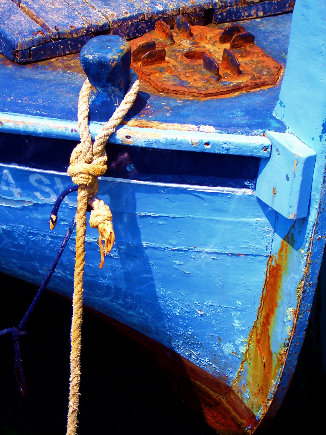 Detail of a boat