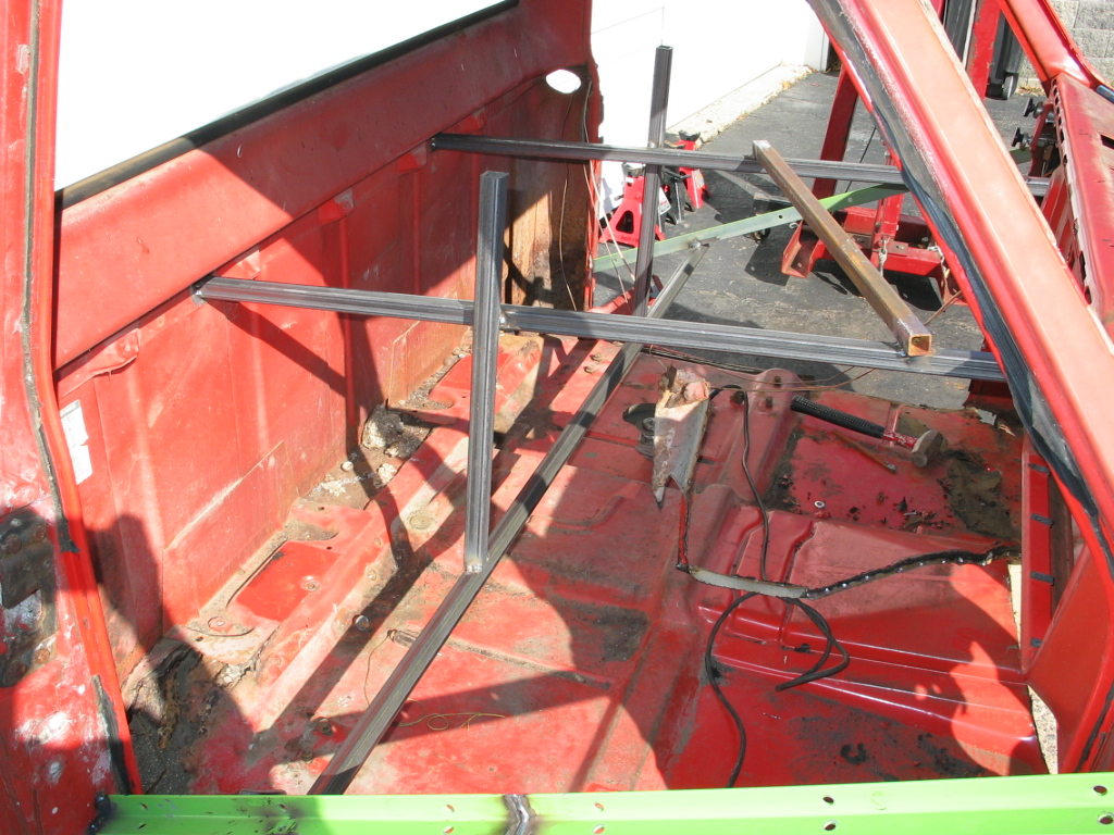 How To Brace Cab When Installing 1 Piece Floor The 1947