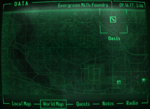 Fallout 3 Unexplored Map Flickr Photo Sharing