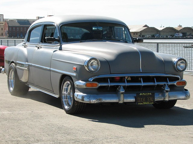 1954 chevrolet bel air 4 door sedan custom 39 dxx 374 39 4 for 1954 belair 4 door