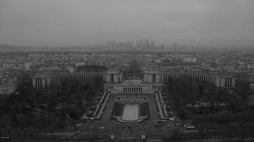 Trocadero e La Défense