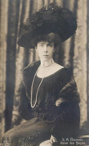 Königin Elisabeth von Belgien, Queen of Belgium