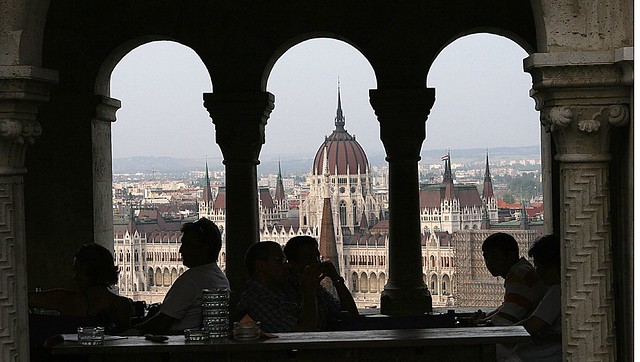 Budapest by CC user 84554176@N00 on Flickr