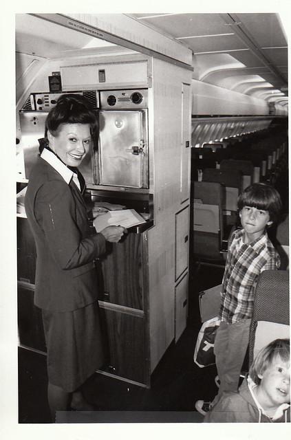 TWA 727 cabin